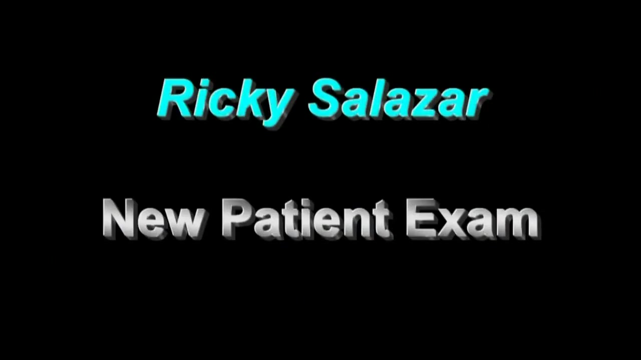Ricky Salazar New Patient teen hungry even eat