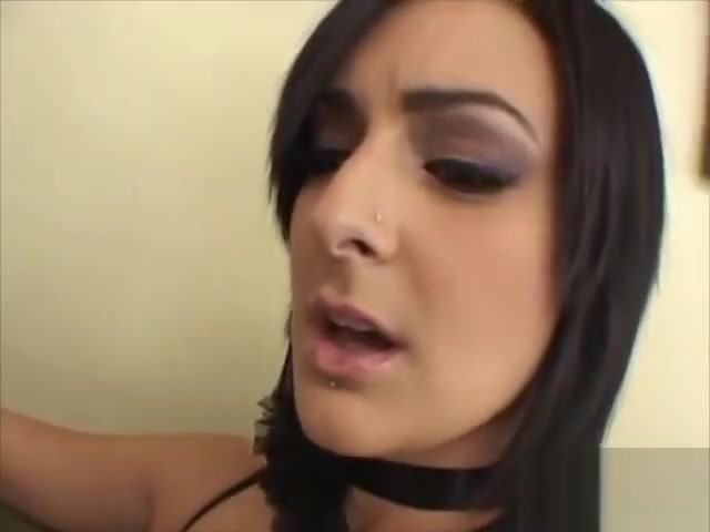 Busty brunette Presley gets her pierced pussy poked Cleveland domination guys