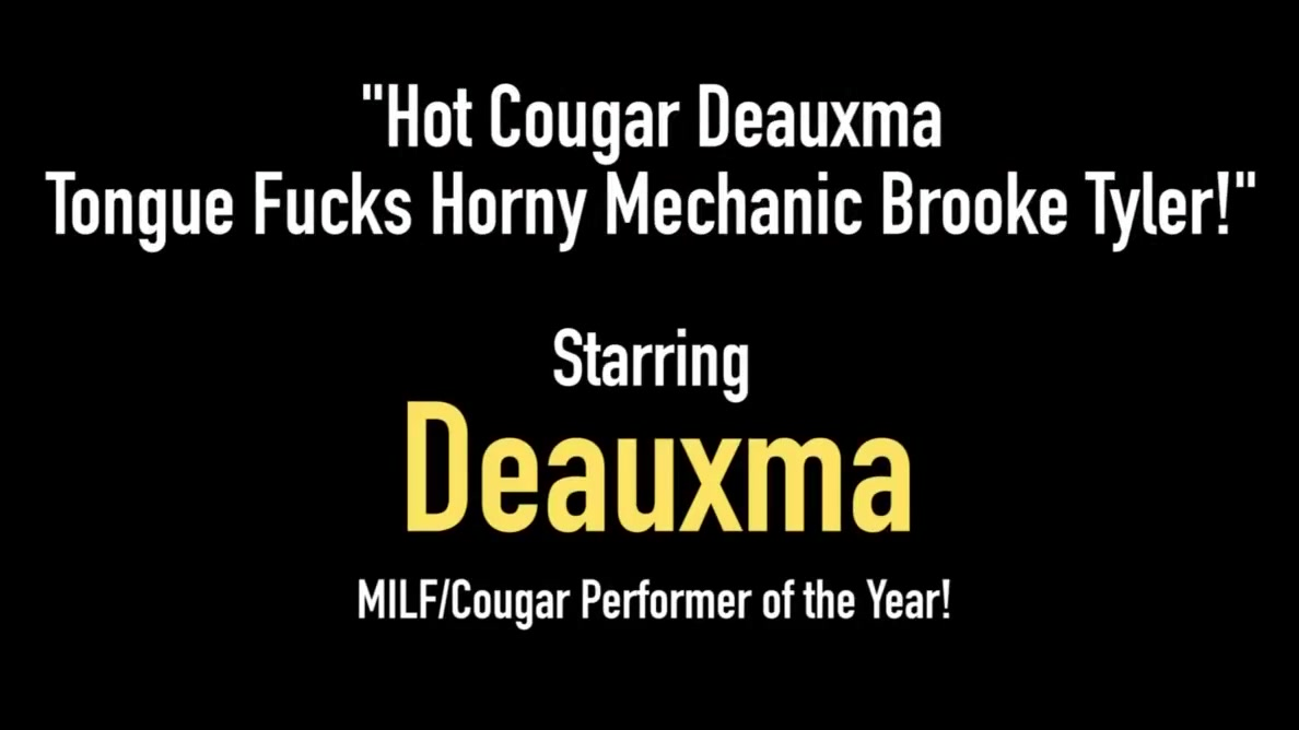Hot Cougar Deauxma Tongue Fucks Horny Mechanic Brooke Tyler! Pics of jessica simpson fat