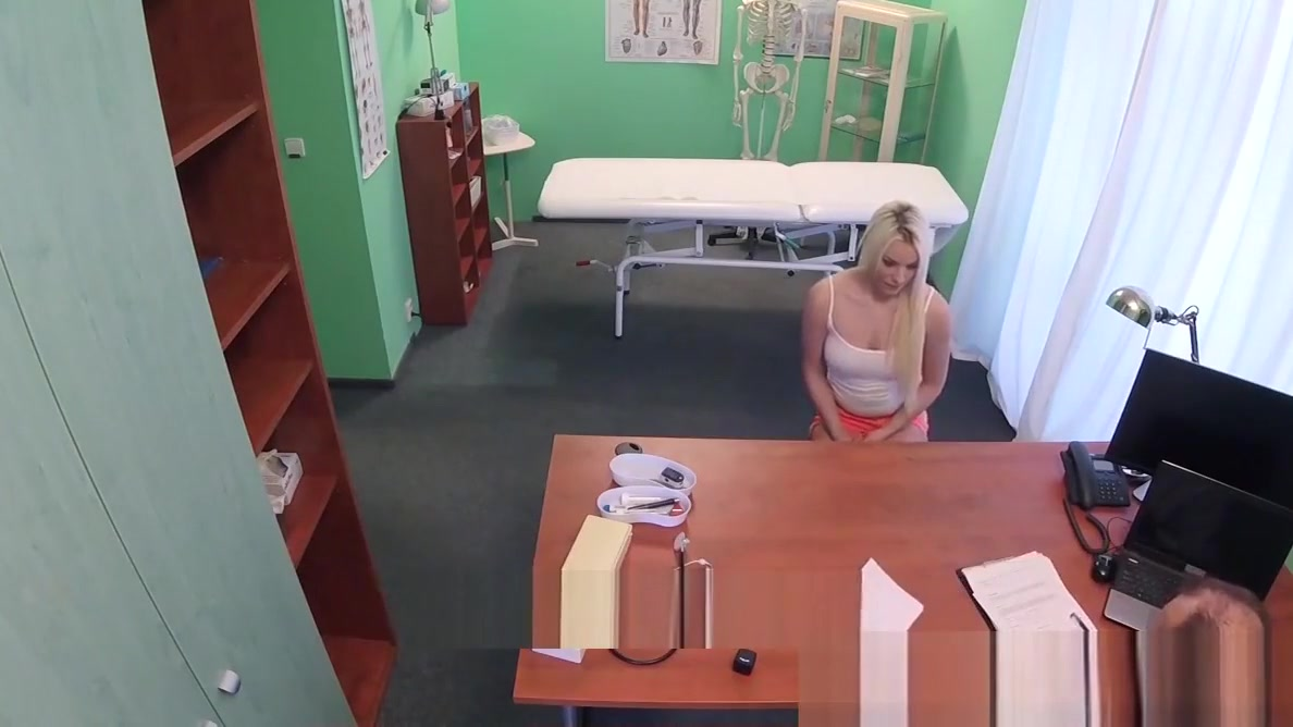 Hot blonde Lucy getting doggystyle at the doctors office wireless outdoor speakers for i pods