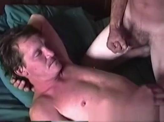 Mature Amateurs Joe and Donny Suck Dick Blonde cum foot job shot
