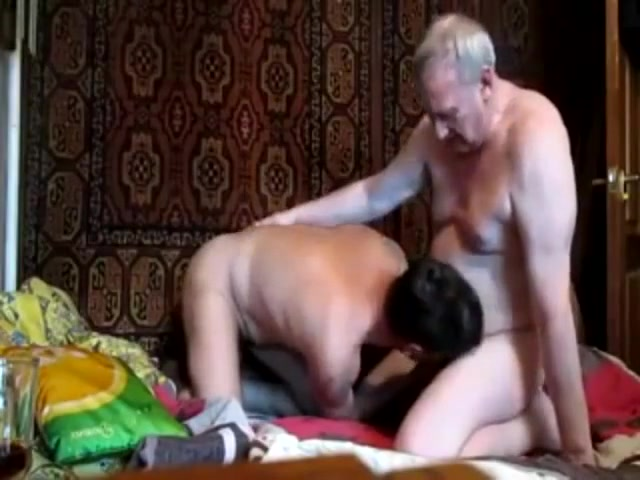 Russian daddy and his friend sexy hot pragnent women