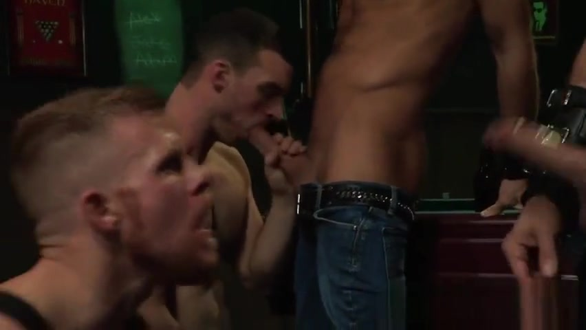 Muscled bear in group Her legs spread sex gif