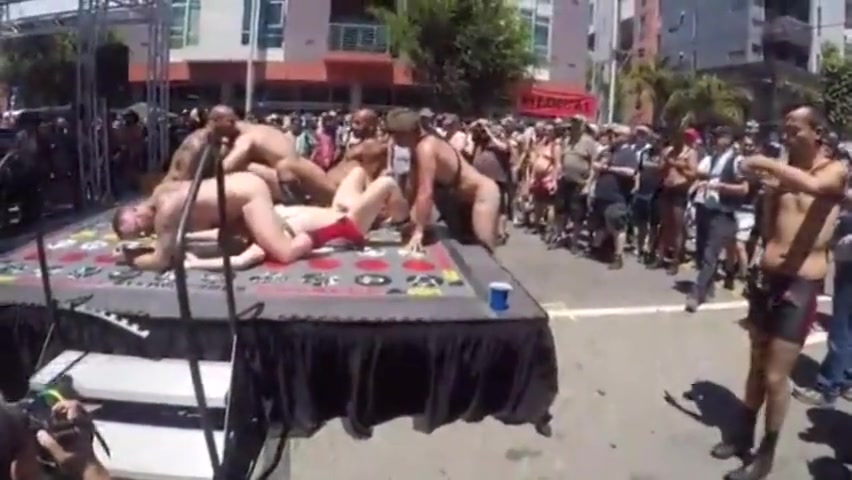 Dore Alley Naked Twister 2017 Its just lunch reddit
