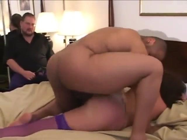 Cuckold eats black cum isabella clark double anal