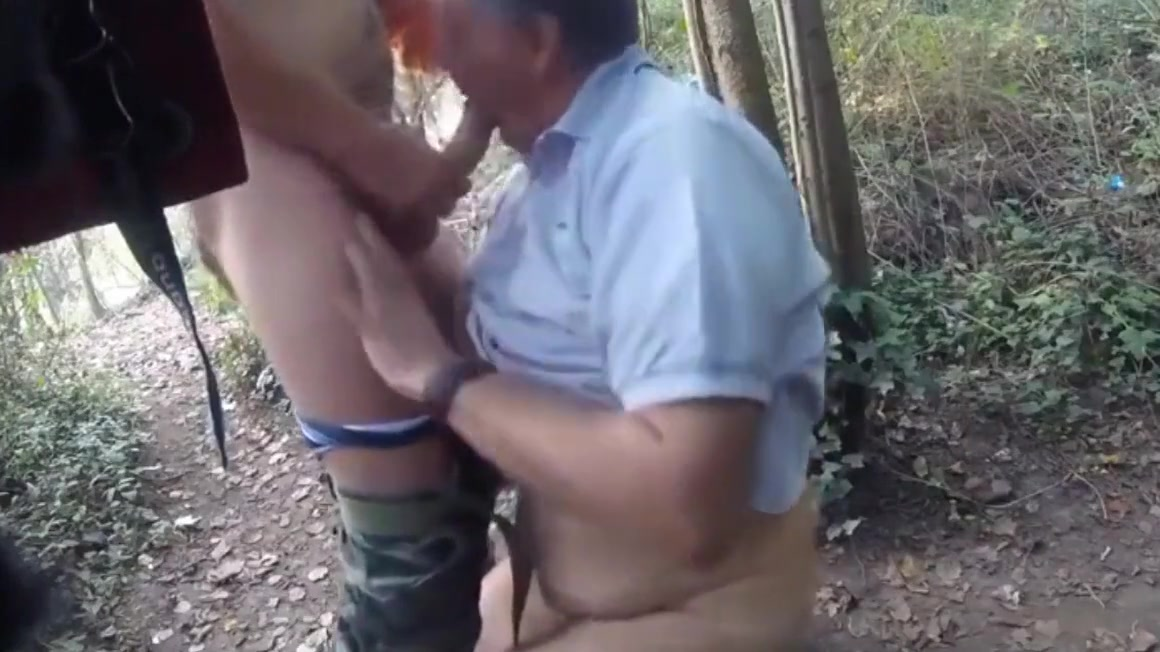 lucky gay boy met hot man in woods and made him cum New indian tube sex