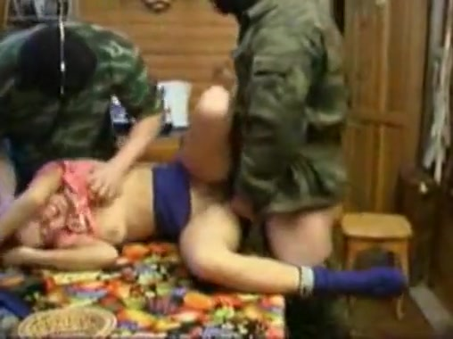 Forced by soldiers porn spit roasted women