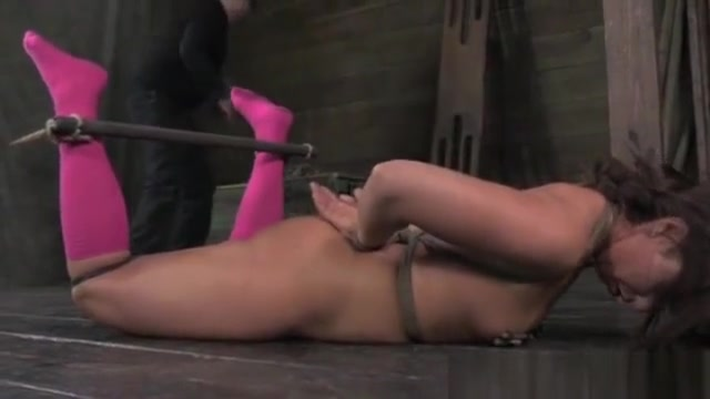 Frogtie hogtied slut being suspended free 3gp cell porn