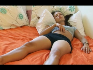Captivating petite pointer sisters hotty solo agonorgasmos in touch breast self exam gloves