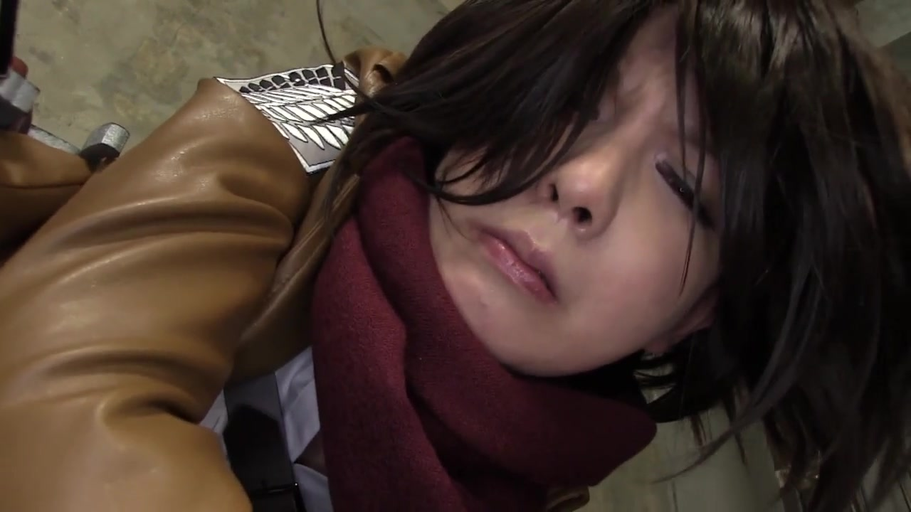 mikasa ackerman cosplay anal pt.1 cheatiing swinger wife soft bdsm wkhile husband works