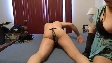 Fat MILF babe with big tits fucking her submissive boy Darmowe filmy porno socks