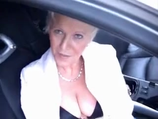 A Camping Voyage with a Golden-Haired Lustful Aged Fake boobs that look natural