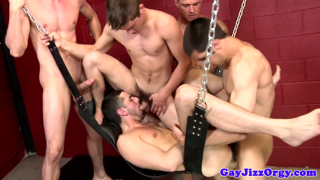 Sex swing for Jake Steel at a gay orgy www live sex indian muvies sex.com.