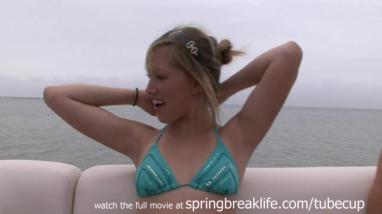 SpringBreakLife Video: 4 Girls On A Boat channing tatum sex video