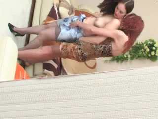 Russian MILF Judith has lez fun with her friend