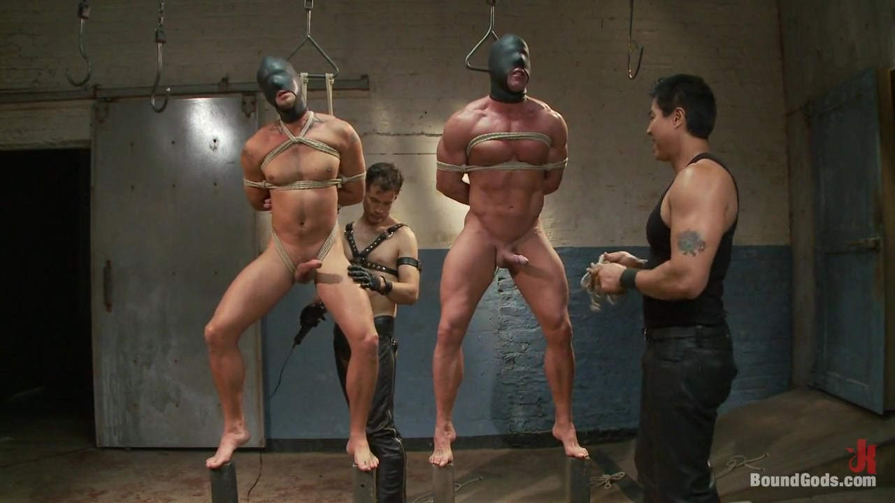 BoundGods : Most challenging suspensions in the history of Bound Gods Live Shoot Mark Ashley And Lisa Ann