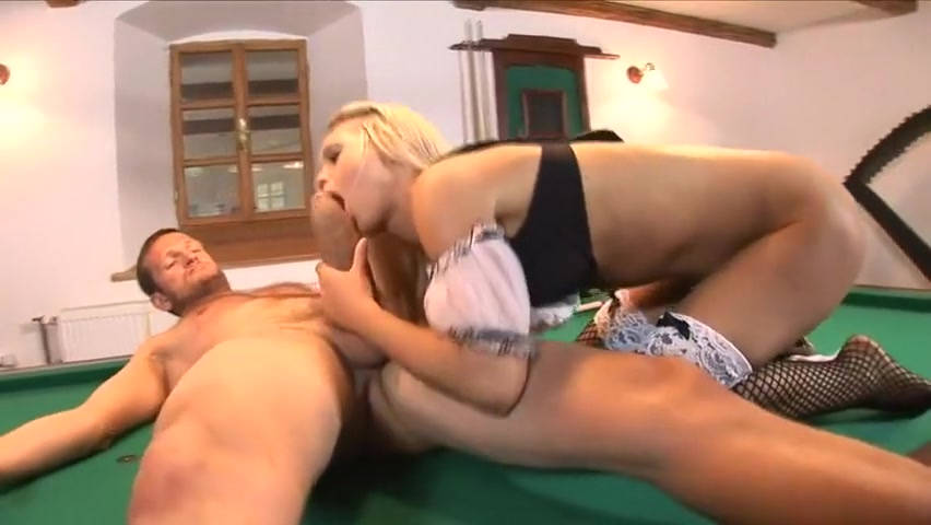 Mia Leone fucked on the pool table MYST SEX SLAVES BIRTHDAY BLESSING