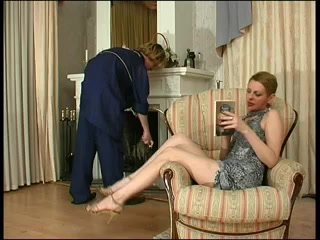 Russian Lady and cleaner (mate) Bent over the desk fucked me