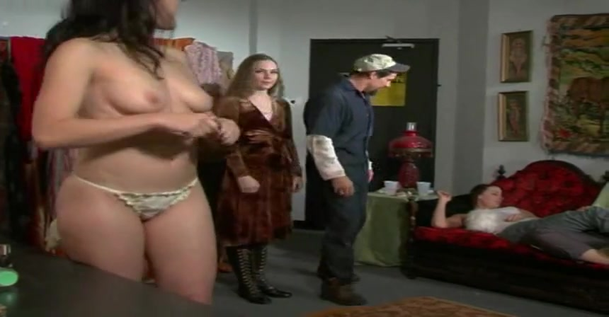Misty Mundae,Erika Smith,Caitlin Ross,Julian Wells in Bite Me! (2004) Porn sexy blonde teen gets