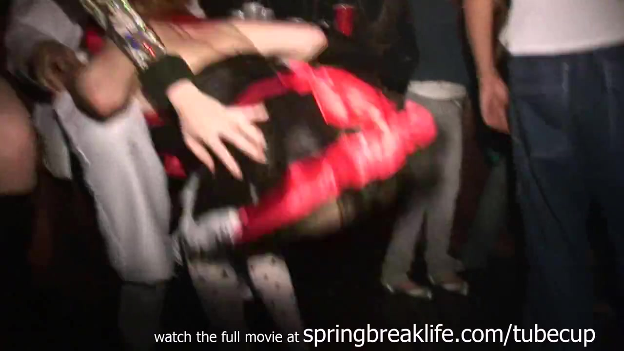 SpringBreakLife Video: Girls Go Wild On Halloween Big Tis Big Ass