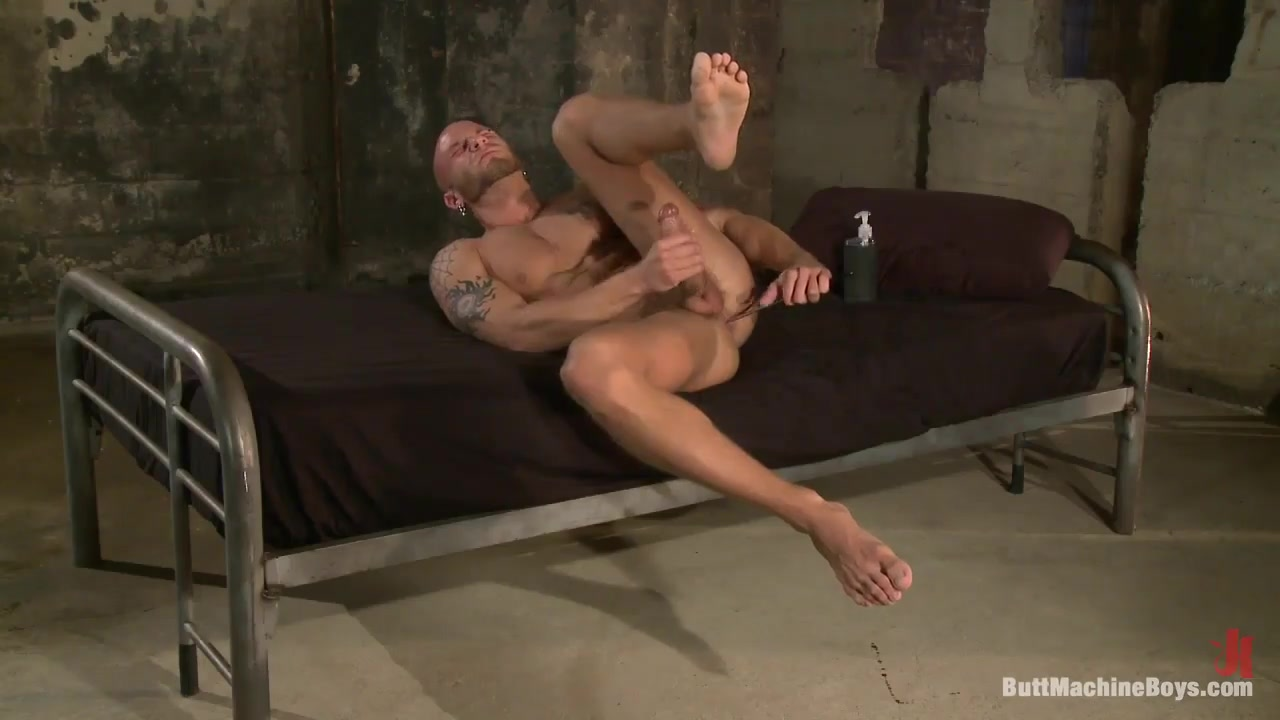 ButtMachineBoys: Muscle Stud and His Toys granny free black porn black pussy 1